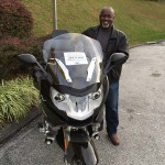 Greg from Bowie, MD with his 2016 BMW K1600 GLE