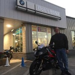 Kevin with his 2016 S1000 RR.