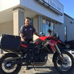 Jason, Bob's BMW certified Tech and his F800 GS