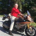 John Barr and his new ride.
