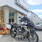 Nick K. with his 2016 R1200 GS.