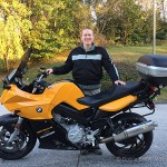 Hayden R. and his 2007 BMW F800S.