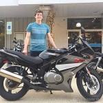 Steven C. and his 2009 Suzuki GS500F