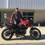 Ken M. and his 2014 F700GS!