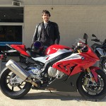 Andrew M. on his 2016 S1000RR!