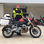 Ron O. with his 2011 R1200GS.
