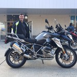 Jim L. with his 2016 R1200GS.