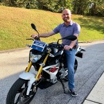 JD who just picked up a new 2018 G310R.