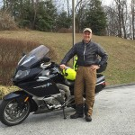 G. Johnson, 2012 BMW K1600GTL