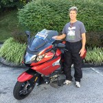 Jeff and his new 2017 K1600GT.