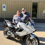 Jim who just picked up this 2016 F800GT.