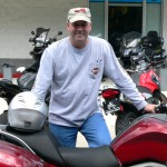Jim Rogers and his 2012 BMW K1600GT.