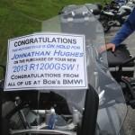 Johnathan Hughes 2013 BMW R1200GS(W).