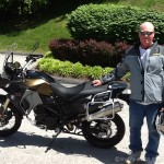 Ken Gery, 2016 F800GS Adventure.
