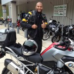 Lance Jones 2014 BMW R1200GS(W)