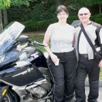 Mike & Jenn Rademacher 2012 BMW K1600GTL