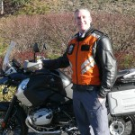 Bruce Haselden with his 2012 BMW R1200GS