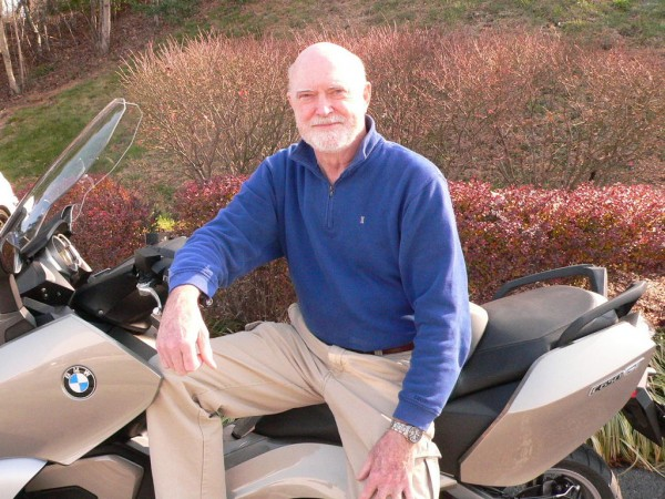 Joe Breen and his new 2013 BMW C650GT!