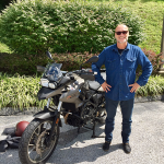 Paul and his new 2013 F700GS.