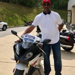 Rickey and his 2017 S1000RR.