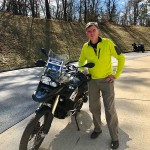 Ron and his sweet 2017 F800GSA.