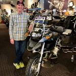 Scott and his new 2007 R1200GS.