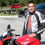 Steven Hang 2006 Triumph Daytona