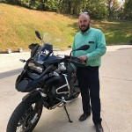 Tom who just picked up this 2017 R1200GSA Triple Black.