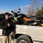 William, who just picked up this 04 R1150R Rockster.