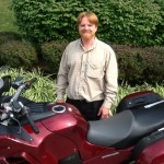 ADAM SMITH  from RESTON, VA with his 2009 KAWASAKI CONCOURS