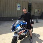 Alex who just picked up a 2017 S1000RR!