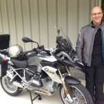 Barry with his 2014 BMW R1200GS