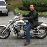 BARRY COULBY from WHITE HALL, MD with his 2003 HD V-ROD
