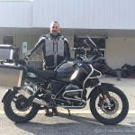 Bill L. on his 2017 R1200GSA Triple Black.