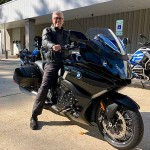 Bill who just picked up his new 2018 K1600B.