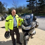 Bob's frequent flyer Dave and his new 2010 R1200RT.