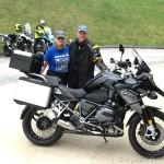 Bob & Donna Torche, 2016 R1200GS Triple Black