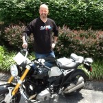 BRUCE MARCO  from Centreville, VA with his 2014 R NINE T.