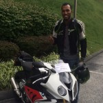 Carlos Norman and his 1st BMW Motorcycle!
