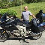 Chris Lance, Baltimore MD, 2012 K1600GTL.