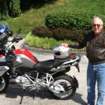CHUCK BOYD from Falls Church, VA and his 2014 R1200GSW.
