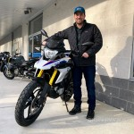 Dave and new 2018 G310GS.
