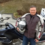 David Cooper with his 2005 K1200LT