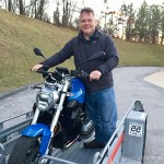 David and his new 2015 R1200R, congratulations and thank you from all of us at Bob's.