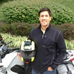 BRIAN HEGGELKE from EASTON, MD with his 2011 BMW F800ST