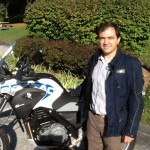 GAETANO ANTINOLFI from WASHINGTON, DC with his 2014 G650GS SERTAO