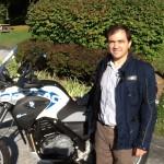 GAETANO ANTINOLFI from WASHINGTON, DC with his 2014 G650GS SERTAO