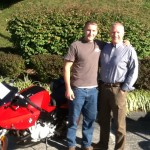 Matthew Glock with Father Steven Glock and his 07 F800S from Fallston, Md