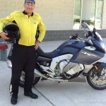 Harold S. with his K1600GTL.