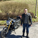 James and his new 2016 R1200R.